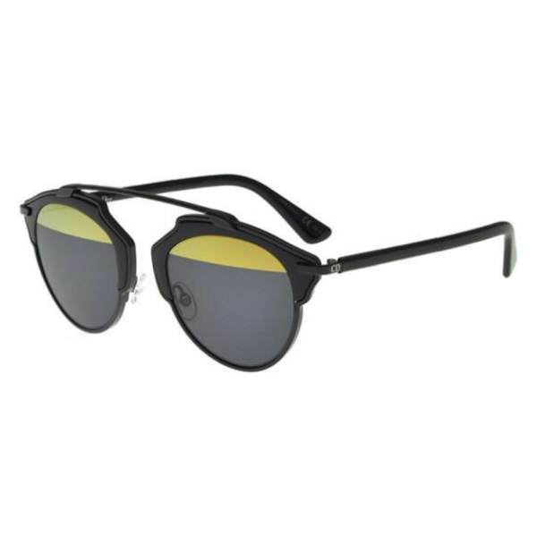 Dior DiorSo Real B0Y/T1 black/dark grey yellow 762753460028 B0Y/T1 black/dark grey yellow