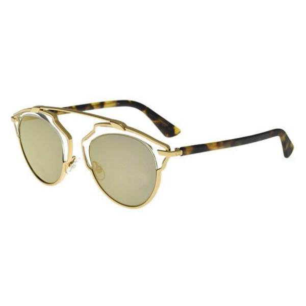 Dior DiorSo Real YN1/MV gold havana/grey gold mirror 762753460219 YN1/MV gold havana/grey gold mirror