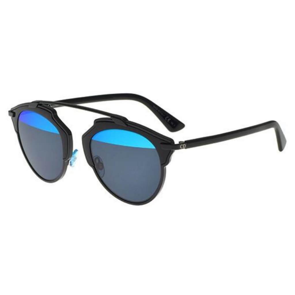 Dior DiorSo Real B0Y/MD black/blue grey mirror 762753496812 B0Y/MD black/blue grey mirror