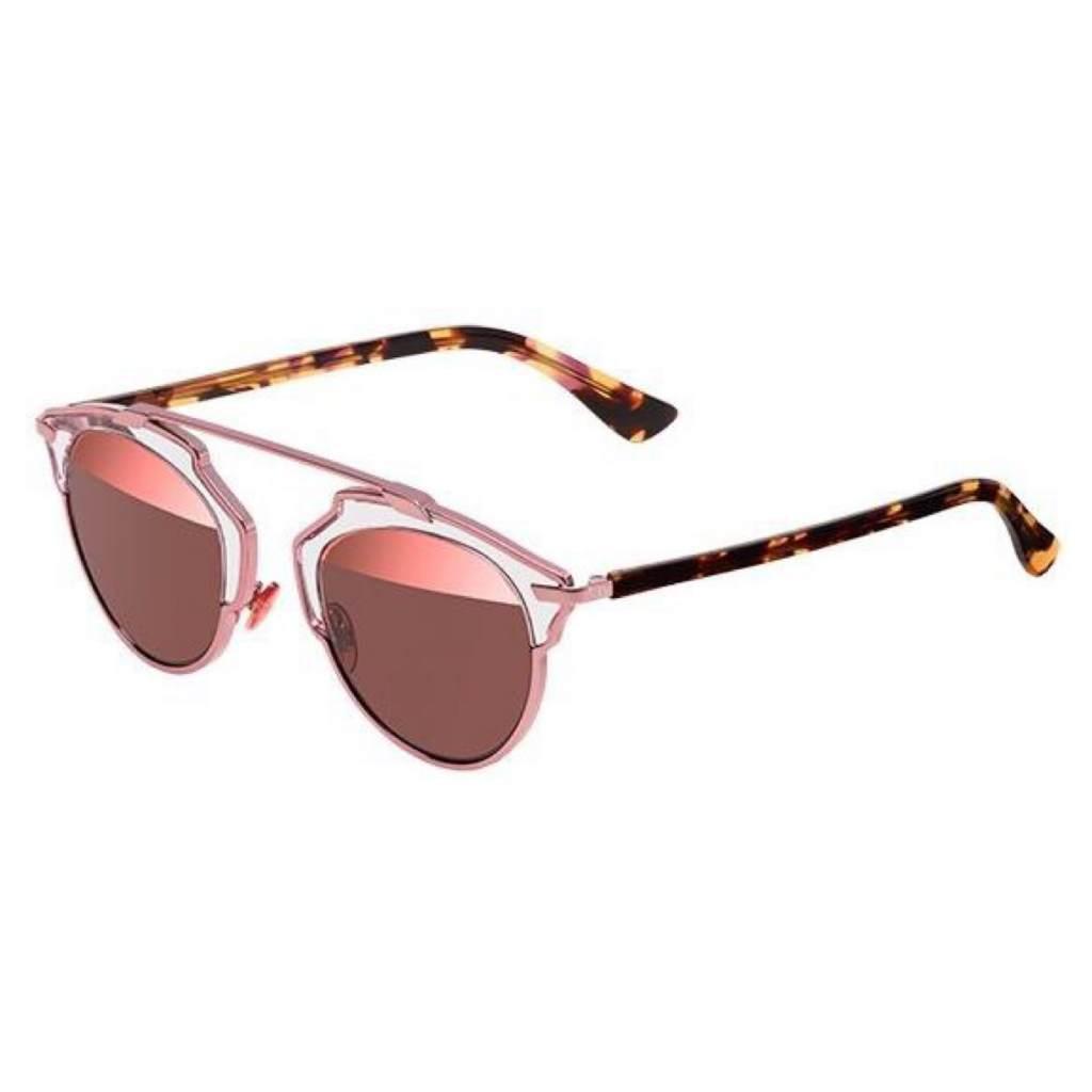 Dior DiorSo Real KM9/8R pink blonde havana/pink mirror 762753825568 KM9/8R pink blonde havana/pink mirror