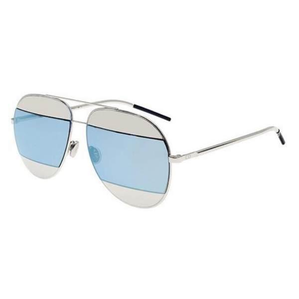 Dior  DiorSplit1 010/3J PALLADIUM/SILVER BLUE MIRROR  827886494095  010/3J PALLADIUM/SILVER BLUE MIRROR