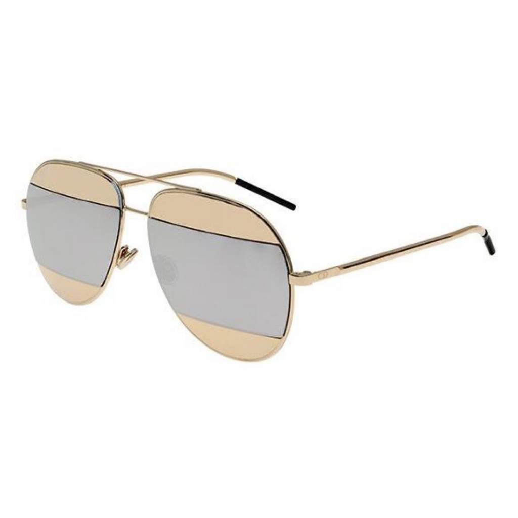Dior DiorSplit1 000/DC ROSE GOLD/GOLD SILVER MIRROR 827886494125 000/DC ROSE GOLD/GOLD SILVER MIRROR