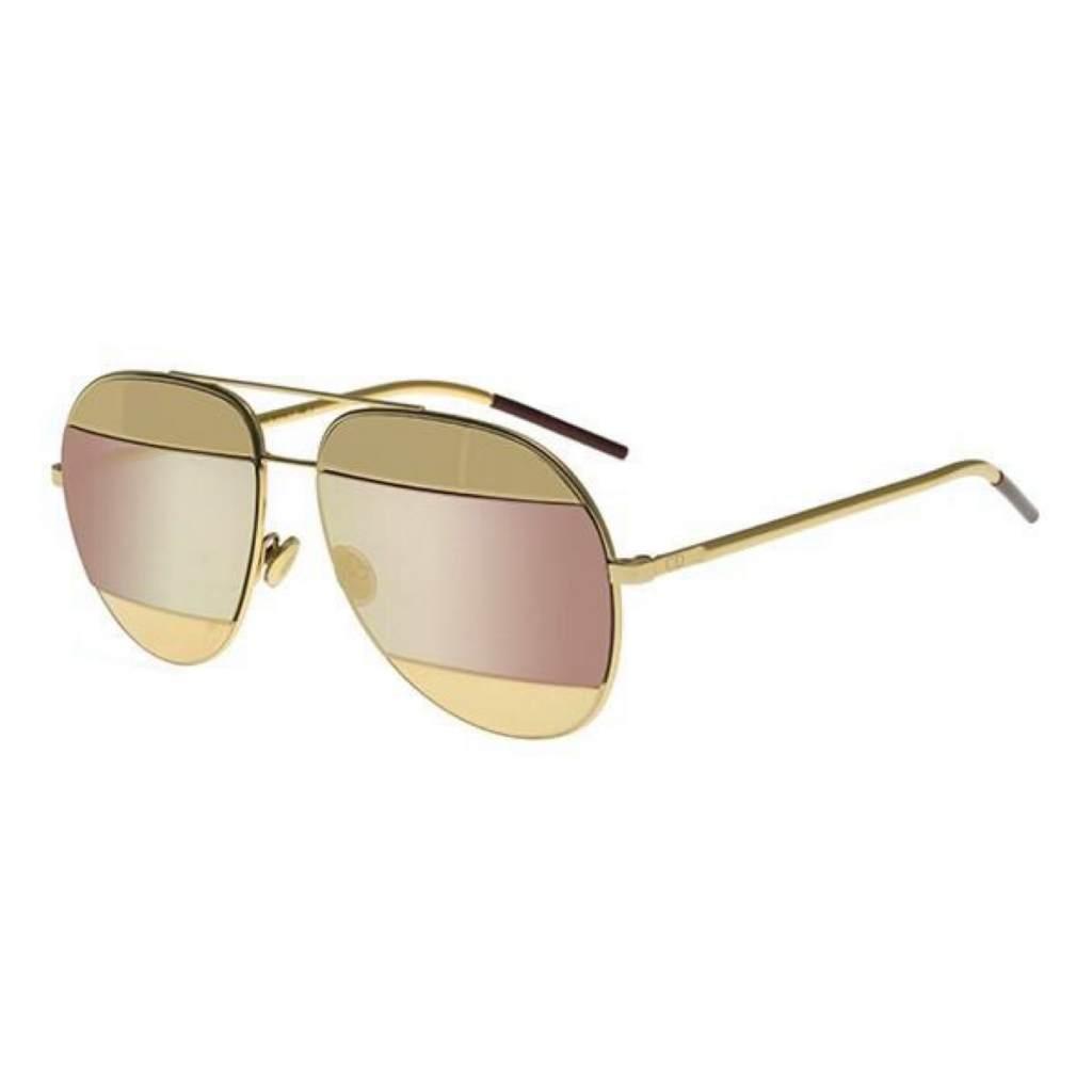 Dior DiorSplit1 000/0J GOLD/ROSE GOLD MIRROR 827886494132 000/0J GOLD/ROSE GOLD MIRROR