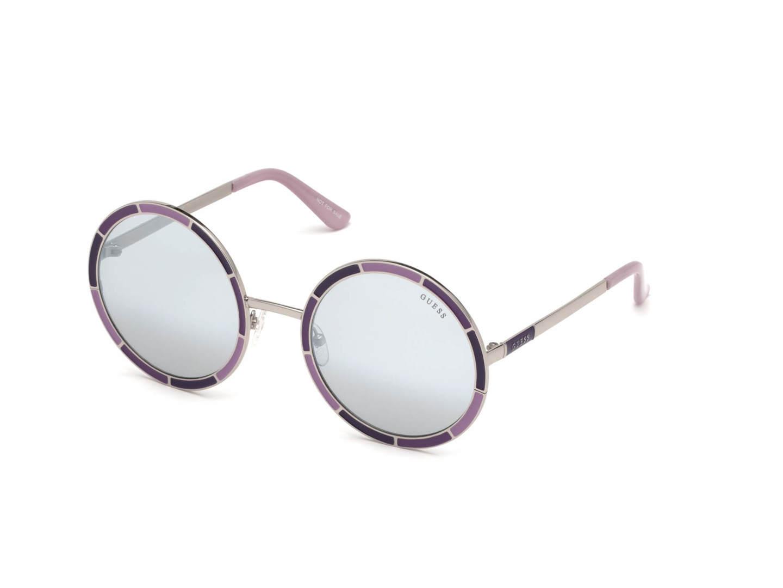 Occhiale Gu7584 Guess Sole Fumo Violaaltro 56 Da 83c Specchiato rqtrg