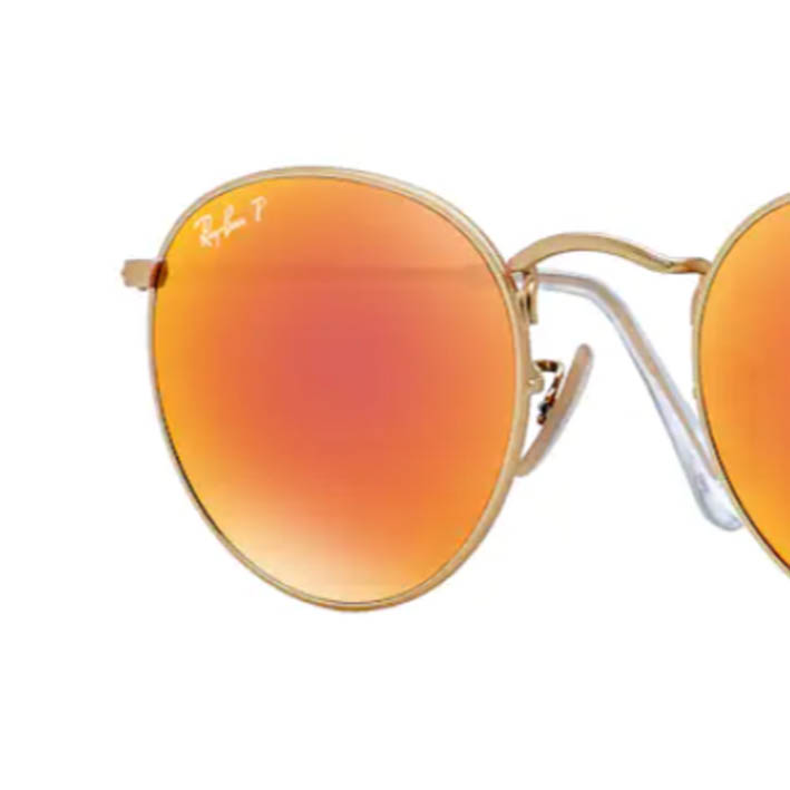RAY-BAN RB3447 red